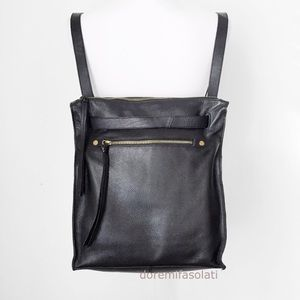 KOOBA CONVERTIBLE BACKPACK leather crossbody tote